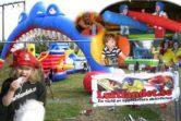barnkalas hoppborg event luftlandet luftslott paintballtorpet
