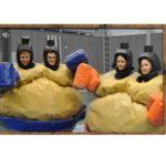 siamesisk sumo Kulan demolition hoppborg luftlandet paintballtorpet kalas event