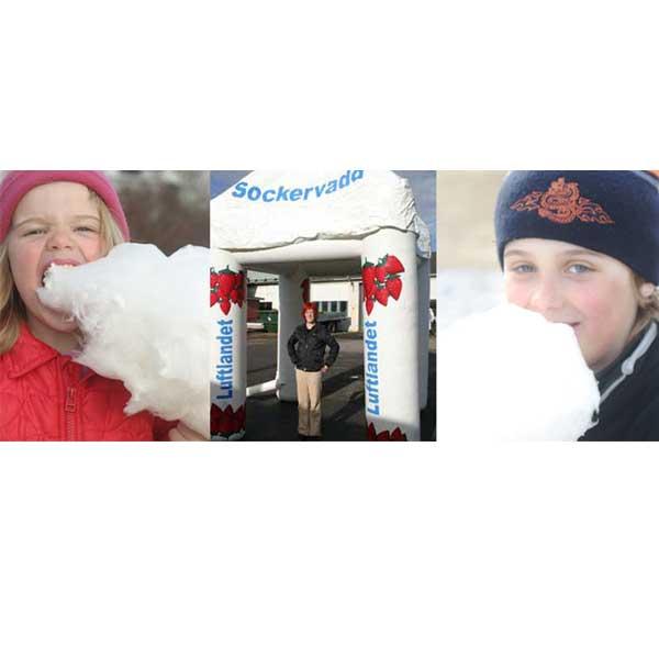 sockervadd Kulan demolition hoppborg luftlandet paintballtorpet kalas event