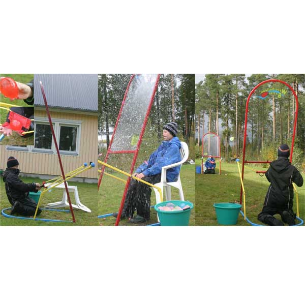 waterballoon battle Kulan demolition hoppborg luftlandet paintballtorpet kalas event