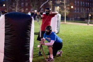 archerytag luftlandet paintballtorpet piteå game tävling svensexa möhippa fest
